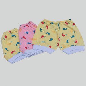 Kit Com 3 Shorts Estampado